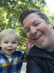 Father with son - Doug Holt Online